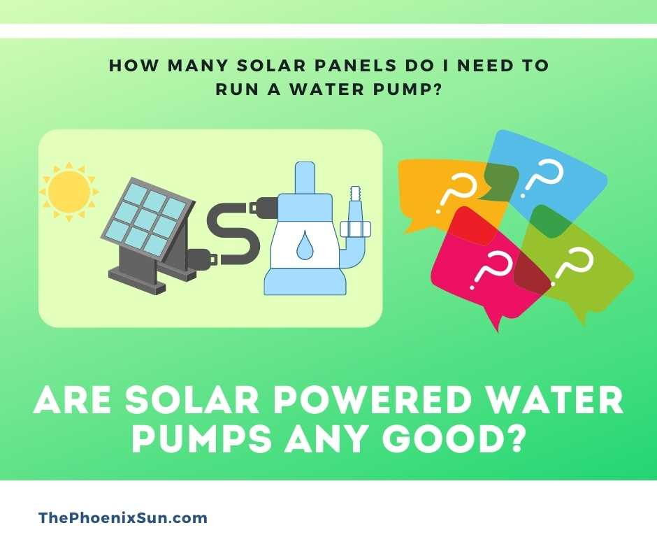 Are Solar Powered Water Pumps Any Good?
