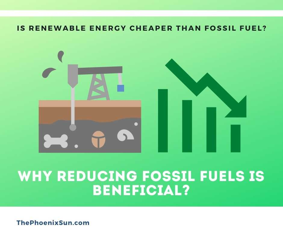 Identify why Reducing Fossil Fuels is Beneficial