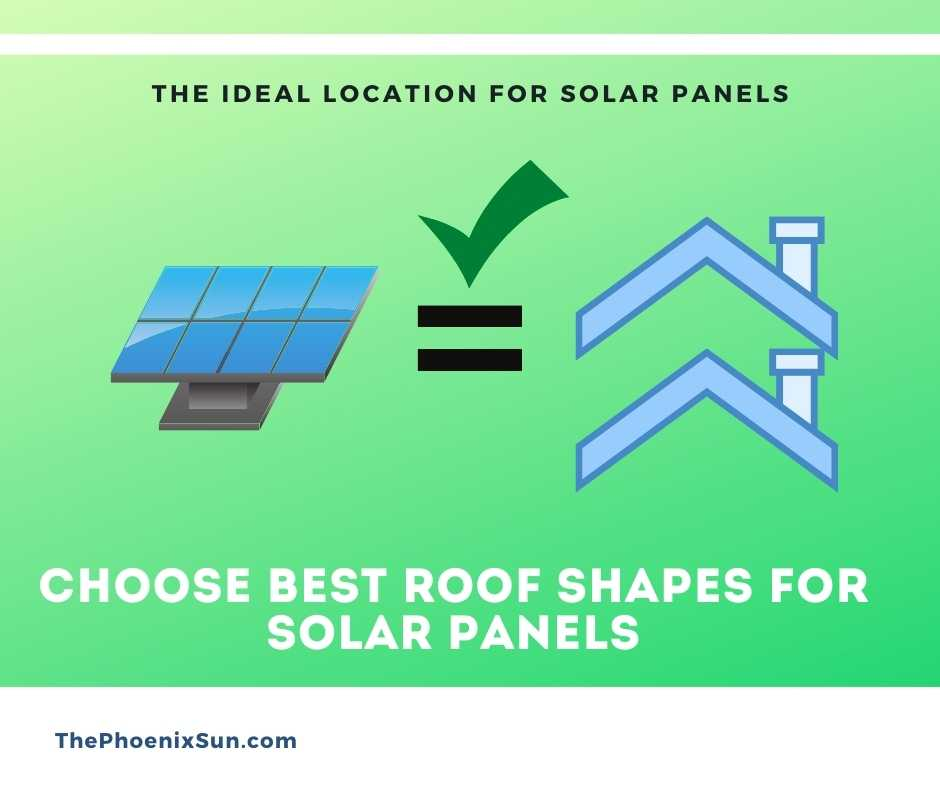 Choose Best Roof Shapes for Solar Panels