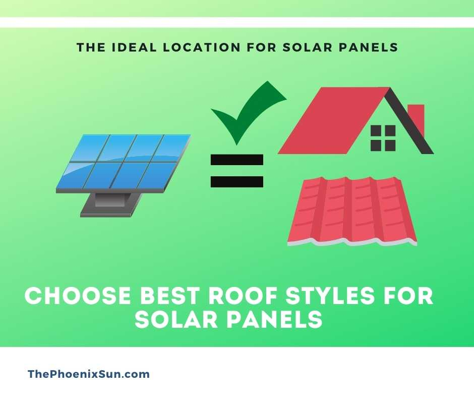 Choose Best Roof Styles for Solar Panels