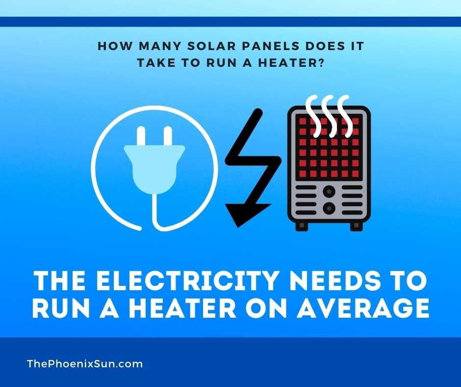 The Electricity Needs to Run a Heater on Average