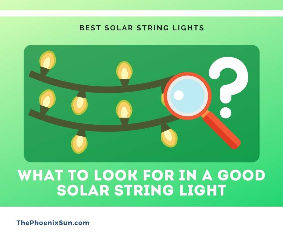 What to Look for in a Good Solar String Light