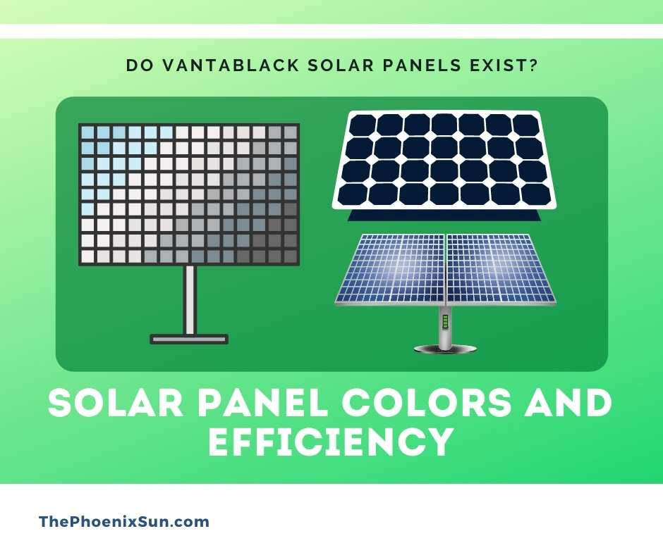 Solar Panel Colors And Efficiency
