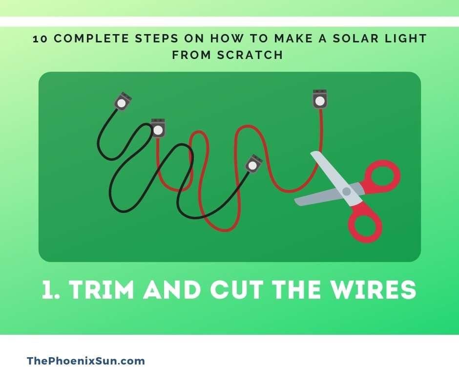 1. Trim and Cut the Wires