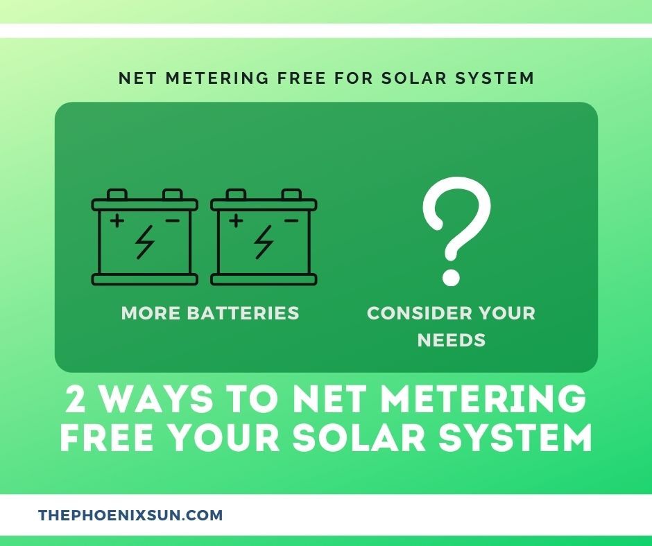 Net-Metering-Free Your Solar System