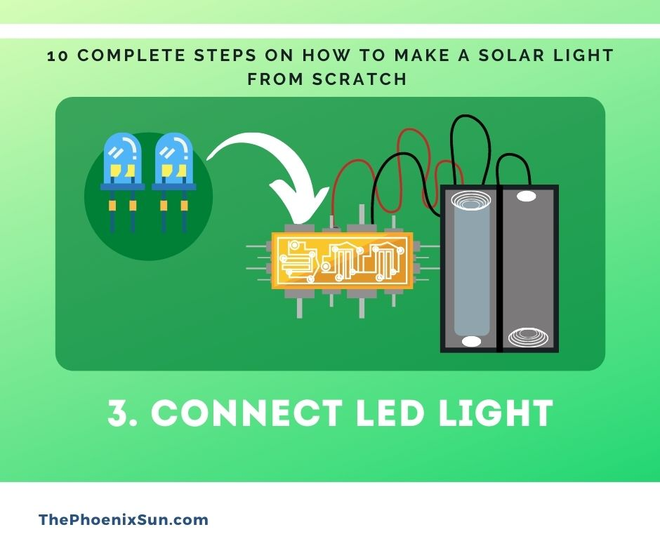 3. Connect Light To Circuit Board